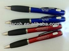 led light ballpoint pen 400pcs free shipping