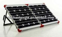 80W folding solar panel kits for 12V car battery