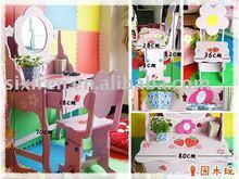 escritorio y silla de los muebles de la tabla del aparador de los niños/del aparador de los niños