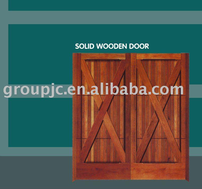 Kerala style wooden double door designs