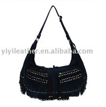 N343-Suede Trendy bags,High Quality Ladies Hobo Bags