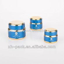 15 g, 30 g, 50 g aluminium crème pour le visage cosmétique emballage jar