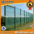 verde de plástico windbreak sombra de compensación valla de seguridad para la agricultura
