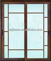 extérieur porte coulissante en verre