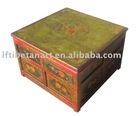 Tibetan buddhist altar table hand painted