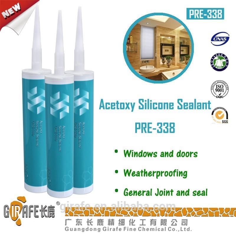 High adhesion Acetoxy Silicone Sealant (GP)