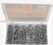 151pc Eye Hooks Assortment Kit