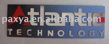 Aluminum nameplates for home appliance