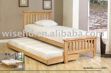 (W-B-0028) solid wood design sofa wall bed