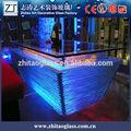 led de luz de vino de cristal líquido barril de tabla de la barra