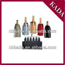 neoprene gel wine bottle cooler bag