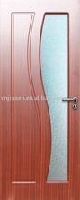 glass insert composite door