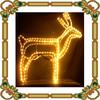 Decorative christmas Deer light