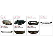 auto lamp and body parts for COROLLA 2007 USA TYPE