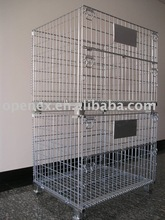 Metal wire mesh box 1000X800X840mm Large/Galvanization/White or Gold