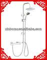 luxo chuveiro trilhos de aço inoxidável banheiro chuveiro bar de apoio