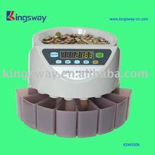 Euro coin counter
