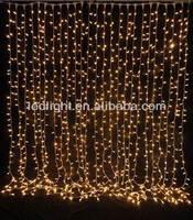 Led curtain light string chain