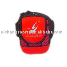yier red neoprene waterproof mobile phone sleeves