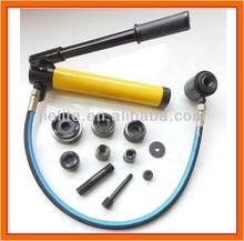hydraulic punch driver, hydraulic hole digger tool, metal hole punch, SYK-8A, SYK-8B