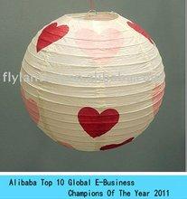 2013 most popular round paper lantern wedding decoration