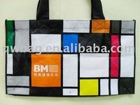 canvas zipper bags wholesale shopping bag
