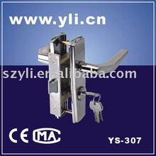 latch With Cylinder & Thumbturm (Mechanical Lock) YS-307 popular