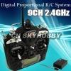 2.4GHz FS-TH9X 9ch Remote control rc transmitter receiver