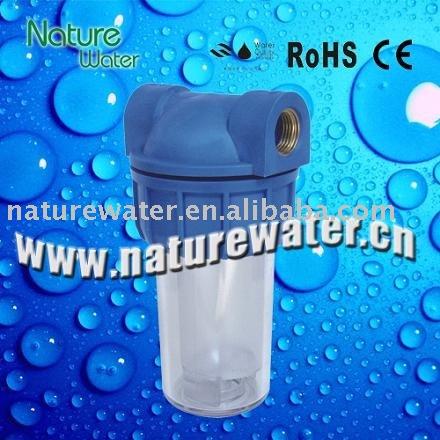 Interno purificador de agua, Caja del filtro de agua