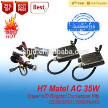 35W Metal base H7 xenon kit