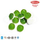 green apple shape fruit juice gummy