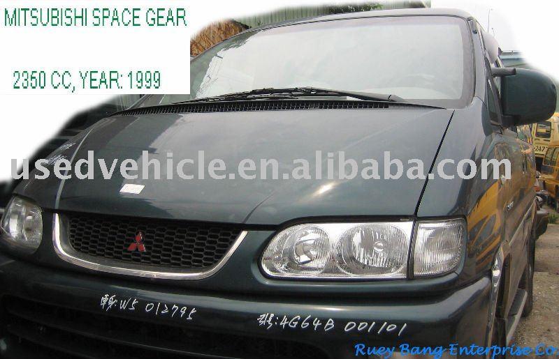Mitsubishi Space Gear 4WD , used vehicle , used wagon , transpotation tool ( 2350CC , 1999 )