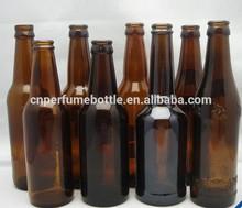Ucuz boş cam bira şişeleri, toptan bira şişeleri 330/750/1000ml