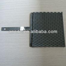 Lead oxide coating titanium anode
