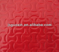 Synthetic pvc leather for handbag material(GX-873)