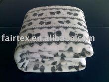 Printed Polyester Flannel Fleece Blanket