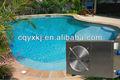 china 2013 13kw açoinoxidável piscina aquecedor com ce