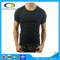 Hochwertige schwarze männer ebene 2014 t-shirt