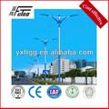 3-12meters simple o doble del brazo de la calle galvanizado poste de luz de la forma cónica o un polígono