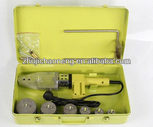 Tubería ppr soldadura de la máquina / ppr de fusión en caliente soldador / tubo de plástico soldador