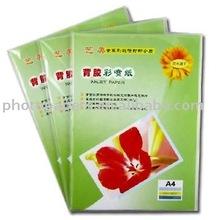 slef-adhesive glossy sticker photo paper