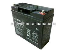 High temperature VRLA AGM battery 12v 18Ah