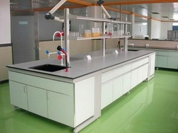 Medical laboratory equipment table