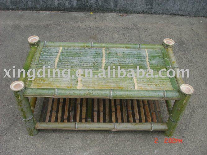 Productos de bambú, bambú puente, enramada de madera, bambú té de mesa, muebles