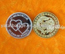 congratulation commemoratve coin gold or silver or copper