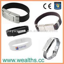 2012! Leather Band/Bracelet USB Flash Drive/Memory/Stick