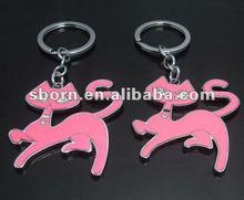 2012 Hot Selling Cat Shape Key Chain-CS1505
