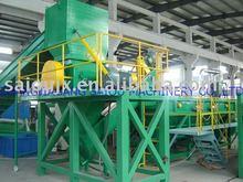 PE film flakes washing plant/recycling line