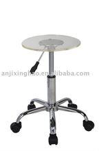Adjustable swivel clear acrylic bar stool chair XH-323