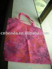 60g rose red non-woven shopping bag